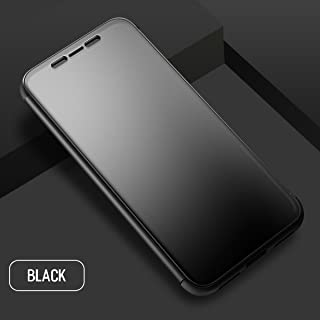 Cover Case for iPhone X, For iPhone 10 plus Case,Tabcoverョ Rock [Dr.V] Ultra Slim Thin Full Screen Window Touchable Smart UI Translucent Touch Sensible Hard PC + TPU Flip Cover Shell Case for Apple iPhone X