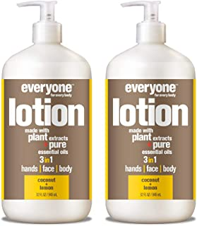 Everyone Lotion, Coconut and Lemon, 32 Fl. Oz (Pack of 2)