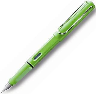 LAMY サファリ 万年筆 ペン先:F グリーン (2012年限定色) 復刻モデル [並行輸入品]