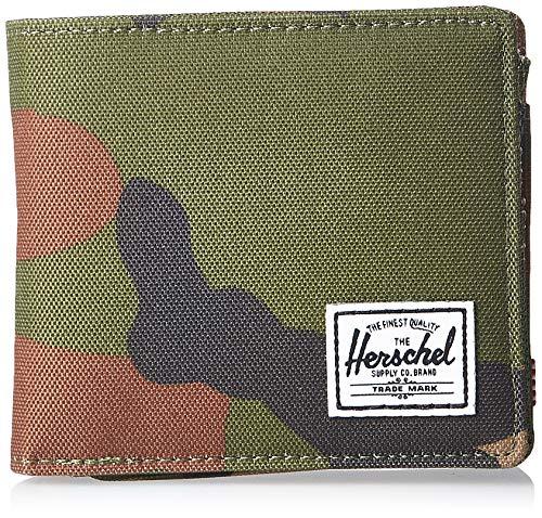 Herschel Unisex-Erwachsene Hans Coin XL RFID Wallet Geldbörse, Woodlang/Camouflage, Einheitsgröße