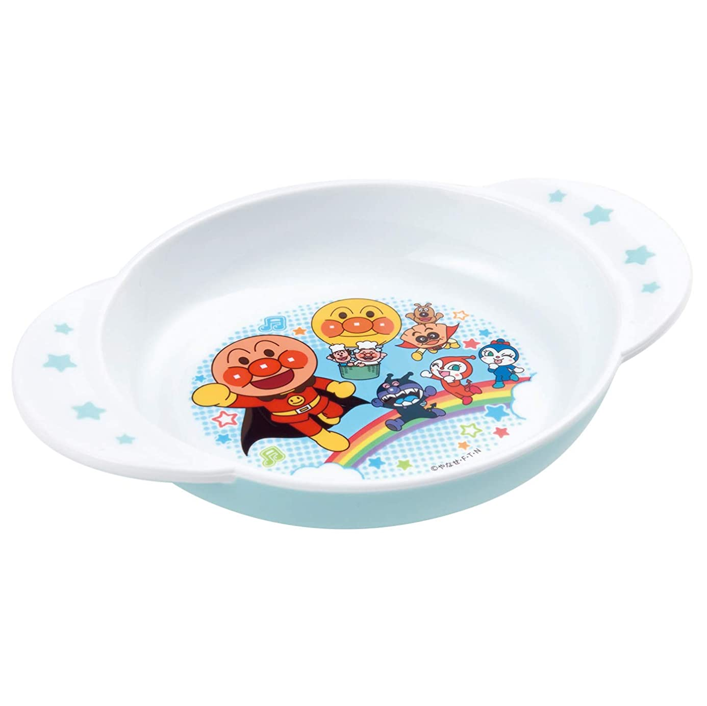 誇張する彼女の交通渋滞レック アンパンマン こども食器 小皿