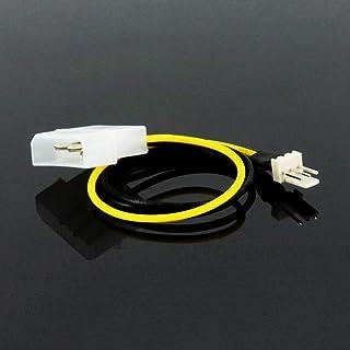 كابلات ووصلات الكمبيوتر - 4Pin IDE Molex إلى 3Pin CPU/Case Fan موصل كابل محول طاقة 15 سم للكمبيوتر المكتبي