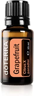 doTERRA Grapefruit Essential Oil - Improves The Appearance of Blemishes, Supports Healthy Metabolism, Uplifts Mood; for Diffusion, Internal, or Topical Use - 15 ml