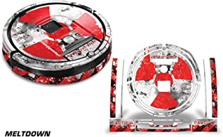 Skin Decal Wrap For iRobot Roomba 980 Vacuum Stickers Accessory Kit MELTDOWN