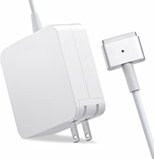 Mac Pro Charger Replacement for MacBook Pro with 13-inch 15-inch Retina Display After 2012 Ac 85W Magsafe 2 T-Tip Power Adapter Connector