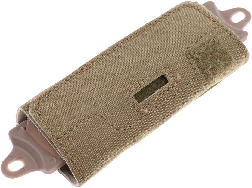 B Baosity Bolsa de contrapeso con 5 Pesas en Bolsillos el/ásticos para Cascos dise/ño Seguro