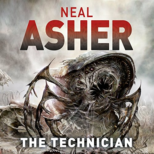 The Technician audiobook cover art