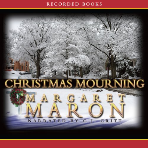 Christmas Mourning audiobook cover art
