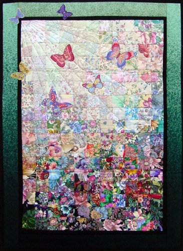 Whims Watercolor Quilt Kits Butterflies are Free Quilting Supplies