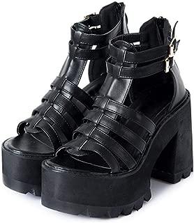 roman style high heels