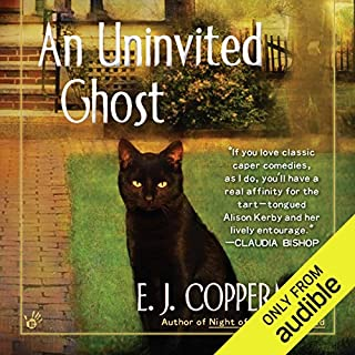 An Uninvited Ghost audiobook cover art