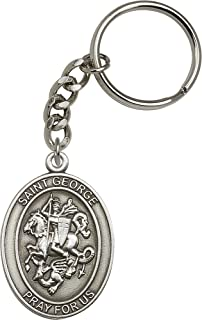 st george ring silver