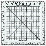 Linex 100413016 pequeño nautischer Your Design, curso Tarjetas de regla de navegación en el mar