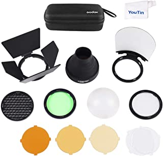 Godox AK-R1 Round Flash Head Accessories Kit for Godox V1 Speedlight and H200R Round Flash Head to AD200 AD200pro Pocket Flash