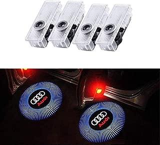 WENP Luce di benvenuto per auto a LED Proiezione logo auto Facile da installare 2 pezzi-04