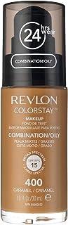 Revlon Colorstay SPF 15 Combination and Oily Face Foundation - 1 oz, 400 Caramel