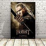 AJBB Legolas The Hobbit Poster Leinwand Poster, Wandkunst