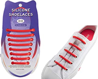 No Tie Shoe Laces Silicone Made Comfortable Colorful and Fun