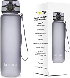 Premium Sports Water Bottle With Leak Proof Flip Top Lid - Eco Friendly & BPA Free Tritan Plastic - Must Have For The Gym,...
