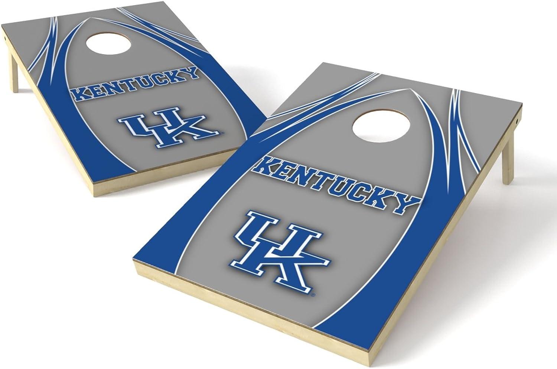 NCAA Kentucky Wildcats 2 x 3 Platinum College V Logo Wood Tailgate Toss, 24  x 36 , Multi