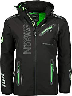 comprar comparacion Geographical Norway Hombre Chaqueta Outdoor Softshell Rainman Turbo de Dry Capucha
