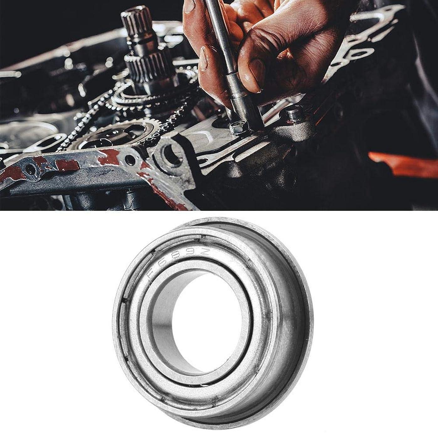 恐れる控えめなでるフランジF687-ZZ / F689-ZZ単列ベアリング鋼両面シール玉軸受、深溝両面軸受、電動機用3Dプリンター(F689ZZ)