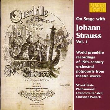 STRAUSS II, J.: On Stage with Johann Strauss, Vol. 1