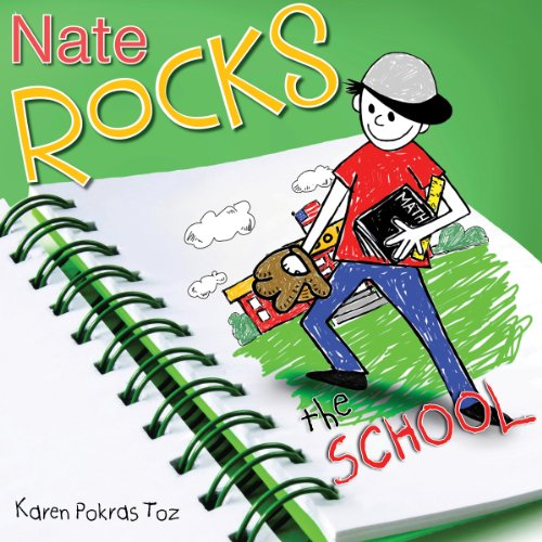 Nate Rocks the School audiobook cover art