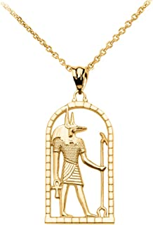 Best gold anubis pendant Reviews