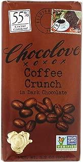 Chocolove Dark Chocolate Bar Coffee Crunch -- 3.2 oz