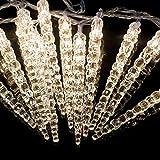 LED Acryl Eiszapfenlichterkette Innen & Außen! 4