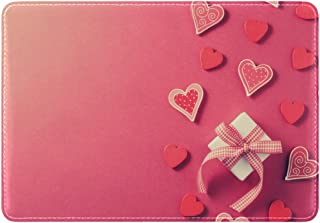 Mydaily Gift Box Hearts Leather Passport Holder Cover Case Protector