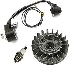 Farmertec SawKits Flywheel Fly Wheel Ignition Coil Spark Plug for Stihl 066 MS660 Chainsaw