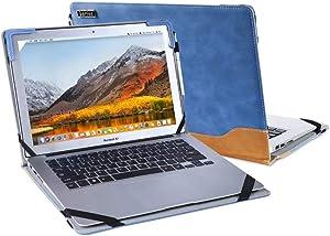 Berfea Stand Case Cover Compatible with Dell Latitude 15 Laptop 7520 /Precision 3560 Moblie Workstation 15.6