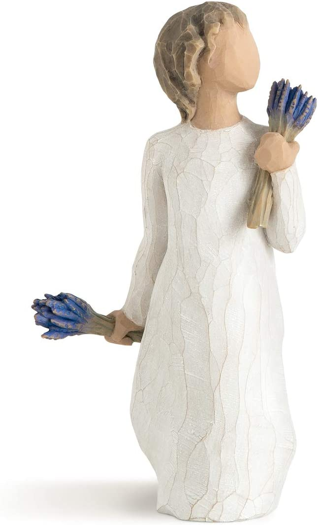 Willow Tree Lavender Grace Manufacturer direct delivery Sculpted Austin Mall Hand-Painted Figure