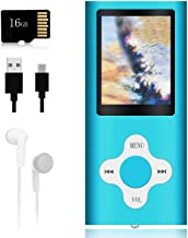 $23 » Mp3 Player,Music Player with a 16 GB Memory Card Portable Digital Music Player/Video/Voice Record/FM Radio/E-Book Reader/P...