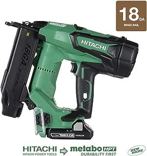 Hitachi NT1850DE 18V Cordless Brad Nailer, Brushless Motor, 18 Gauge, 5/8