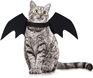 Kortes Halloween Pet Bat Wings Cat Dog Bat Vampire Costume Halloween Accessory for Puppy Dog and Cat