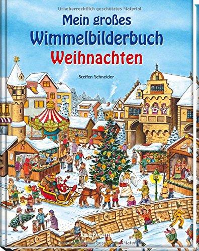 Mein großes Wimmelbuch Weihnachten