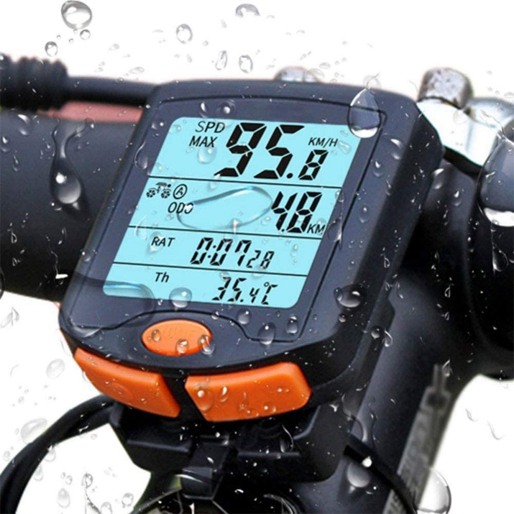 Department store WLLP Bicycle Speedometer and Waterproof El Paso Mall Cycle Odometer Wireless