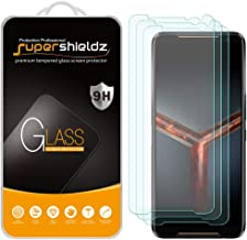 (3 Pack) Supershieldz for Asus ROG Phone 2 / ROG Phone II (ZS660KL) Tempered Glass Screen Protector, Anti Scratch, Bubble ...