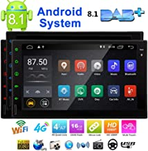 Eincar 7 inch Android 8.1 Oreo Car Stereo 2 Din in Dash GPS Navigation Radio Bluetooth Head Unit Support Phone Mirroring CAM-in OBD2 4G/3G WiFi Full Touch Panel Car Player
