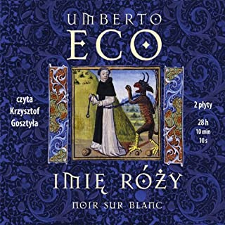 Imie Rózy [The Name of the Rose] cover art