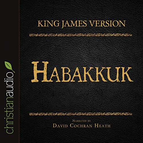 Holy Bible in Audio - King James Version: Habakkuk audiobook cover art