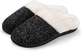 BULLIANT Womens Slippers, Cozy Memory Foam House Slipper,Fuzzy Plush Lining and Ruber Sole