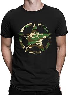Retro Army Logo Camoflauge Men's T-Shirt