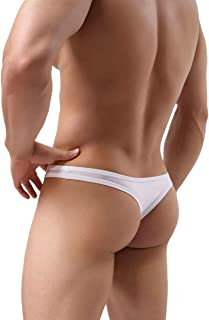 MuscleMate Premium Men's Thong Underwear, No Visible Lines, Men's Thong G-String Underpants