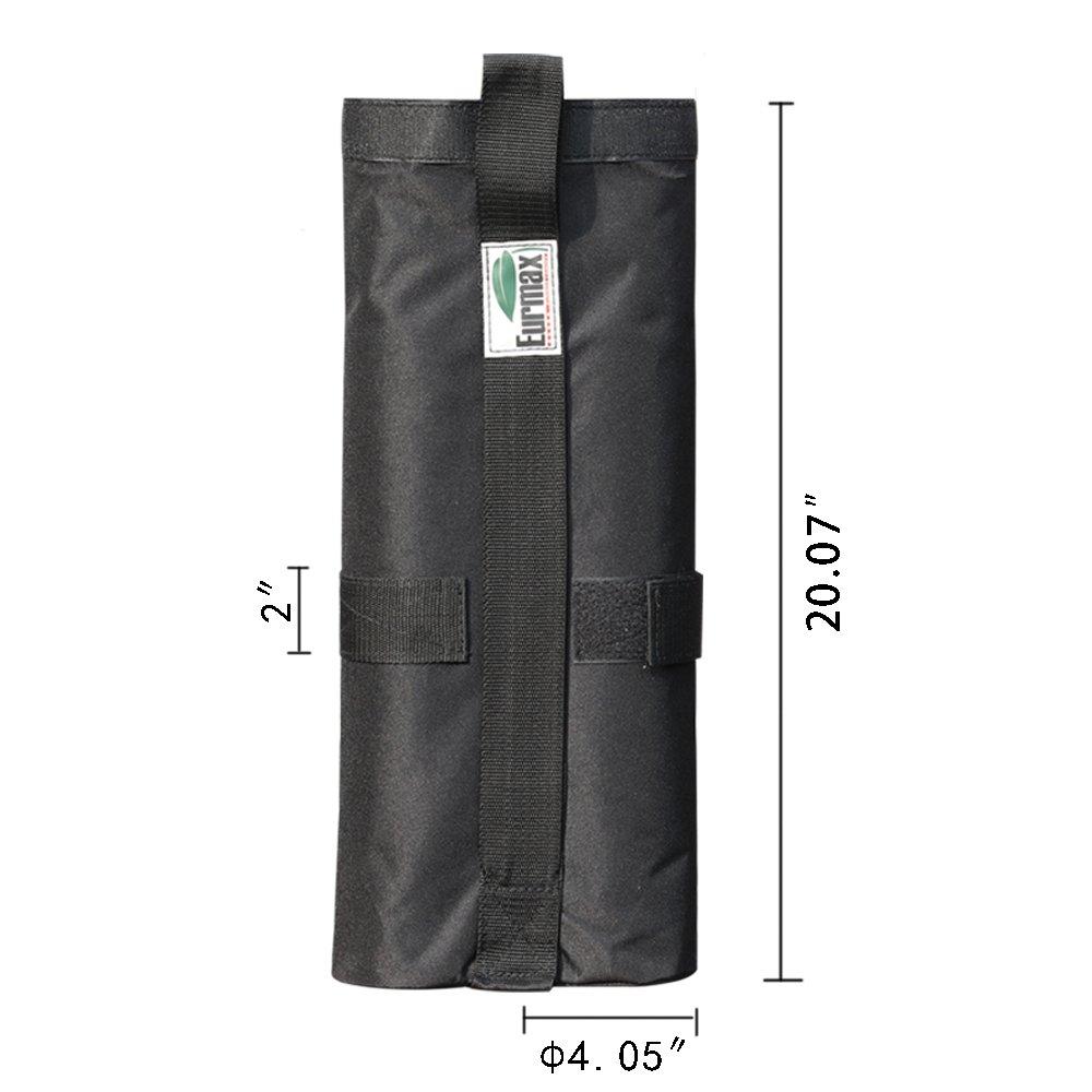 Eurmax - Bolsas de Pesas para toldo de Arena o toldo (Peso de Pierna): Amazon.es: Jardín