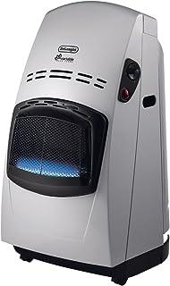 De'longhi VBF2 - Calefactor eléctrico, 4200 W, acero, negro/plata
