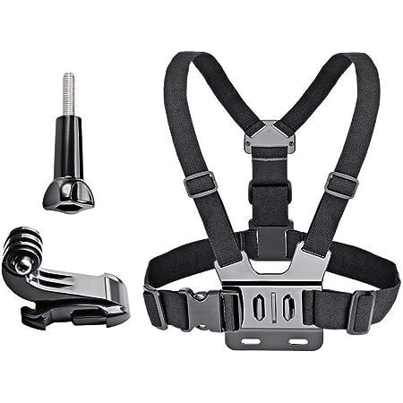 LT/_ Adjustable Chest Belt Strap Mount Harness Organizer Set for Sport Action C